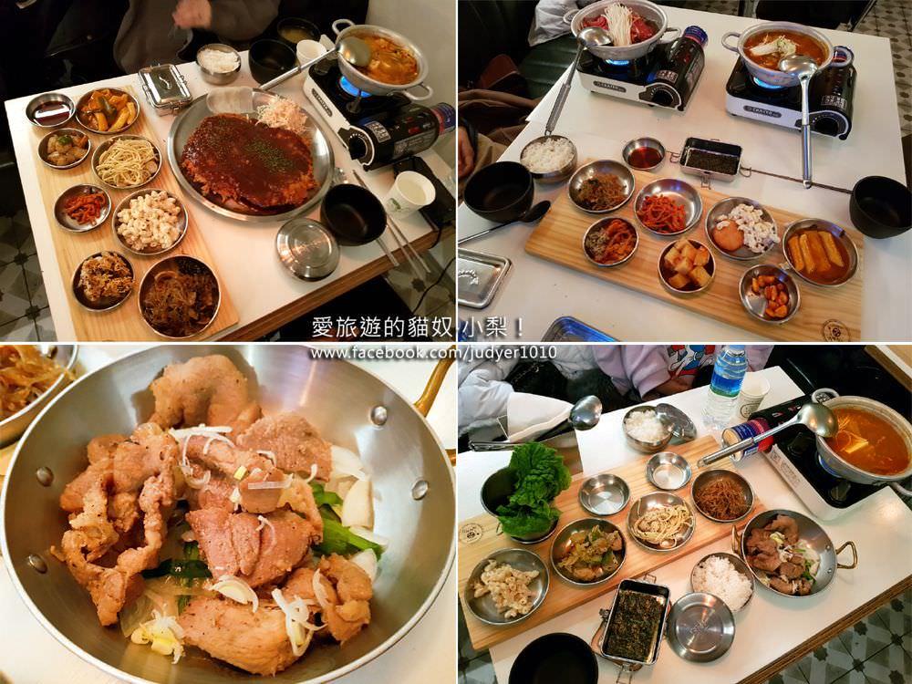 【弘大美食推薦】合井\金德厚的司機食堂,一個人就能用餐的韓國美食小館,便宜又好吃!