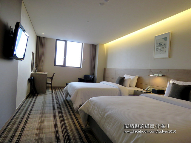 首爾住宿,梨泰院漢密爾頓酒店Hamilton Hotel Itaewon房間