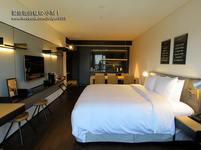 首爾住宿, 格蘭德汝矣島酒店Glad Hotel Yeouido房間設施