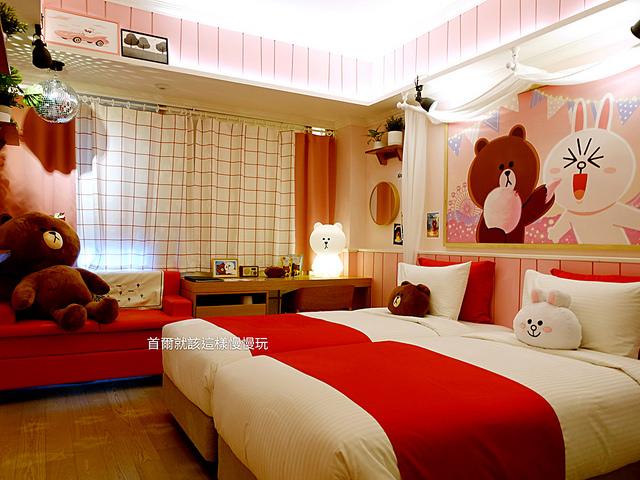 首爾住宿,黃金鬱金香M飯店Golden Tulip M Hote 熊大主題房l