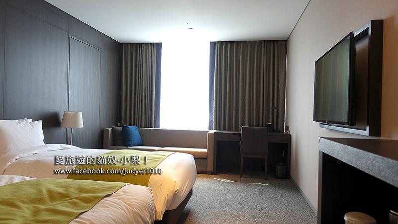 首爾住宿,九樹飯店房間