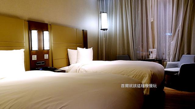 首爾住宿,首爾崇禮門萬怡飯店房間