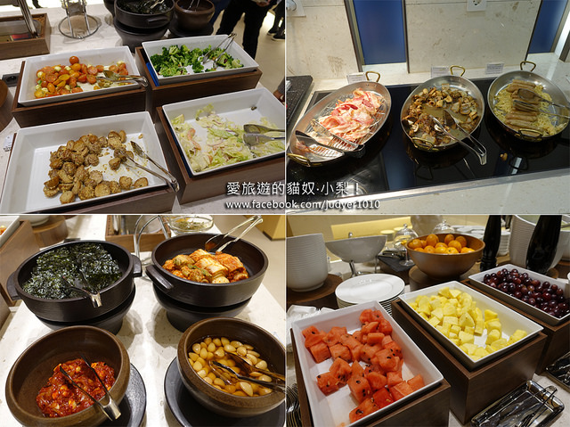 明洞住宿,首爾雅樂軒飯店-早餐菜色
