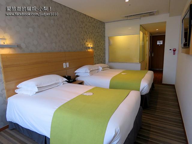 首爾住宿,Nine Tree Hotelz房間