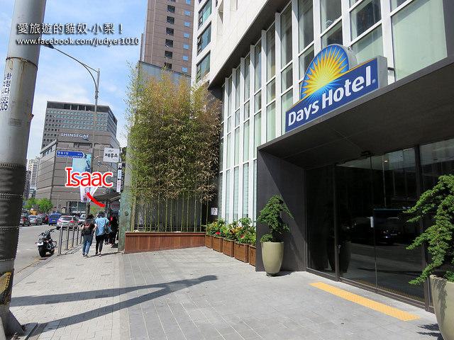 明洞Days Hotel Myeongdong外觀