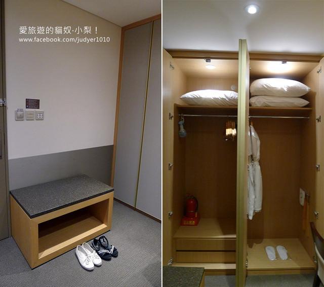 明洞住宿,PJ飯店大衣櫥