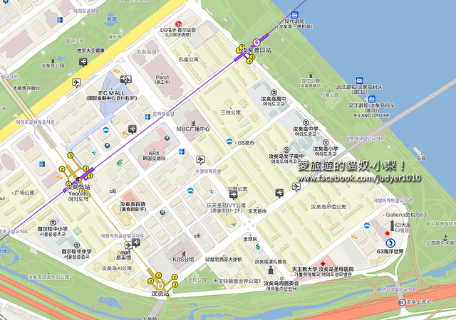 63大廈地圖