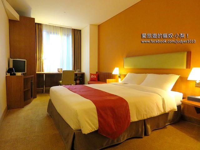 首爾住宿,首爾宜必思明洞大使飯店房間