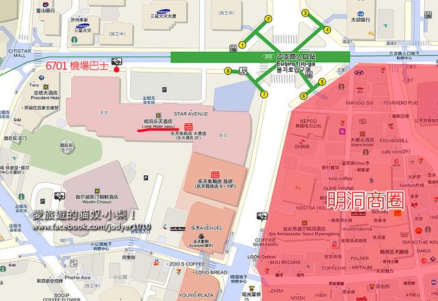 乙支路入口地圖