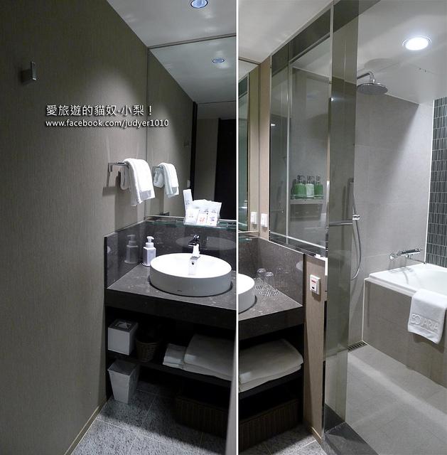 明洞住宿-索拉利西鐵飯店浴室