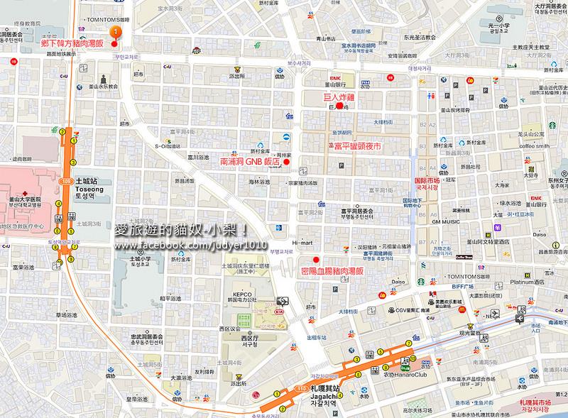土城站地圖