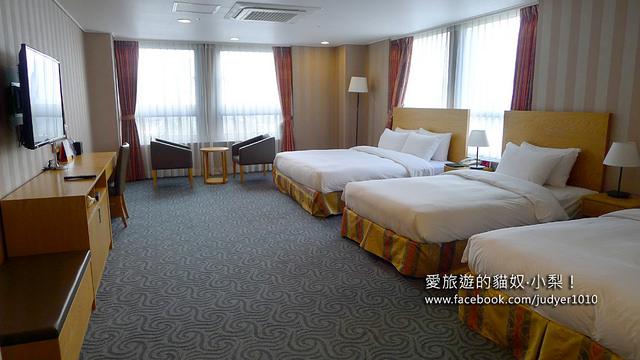 首爾住宿,中庭飯店Hotel Atriumz房間內部
