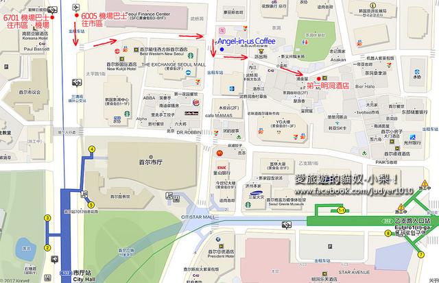第一明洞酒店地圖-1