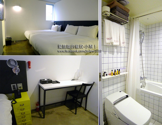 首爾住宿,明洞克里多飯店Creto Hotel Myeongdong房間設施