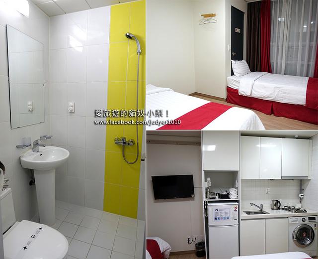 首爾住宿,G STAY公寓飯店G Stay Residence 設施