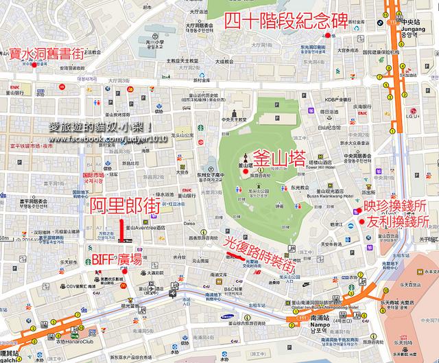 南浦洞地圖new