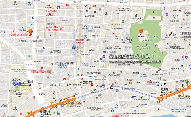 札嘎其地圖GNB飯店