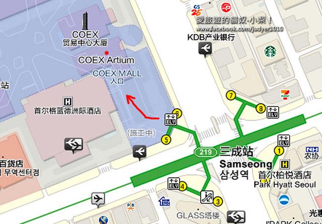 三成站地圖