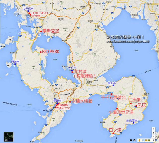 長崎地圖1