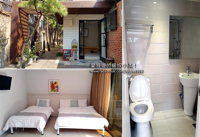 首爾住宿,梅佛瑞斯特維爾飯店The Mei Forestvill 房間與設施