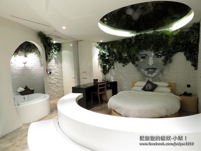 首爾住宿,江南設計師酒店Hotel The Designers房間