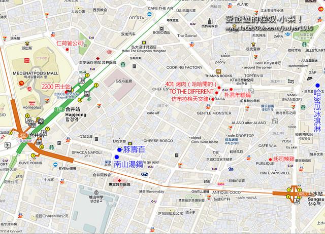 合井地圖 -南山湯鍋