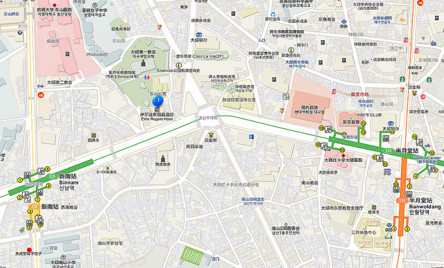 新南站地圖