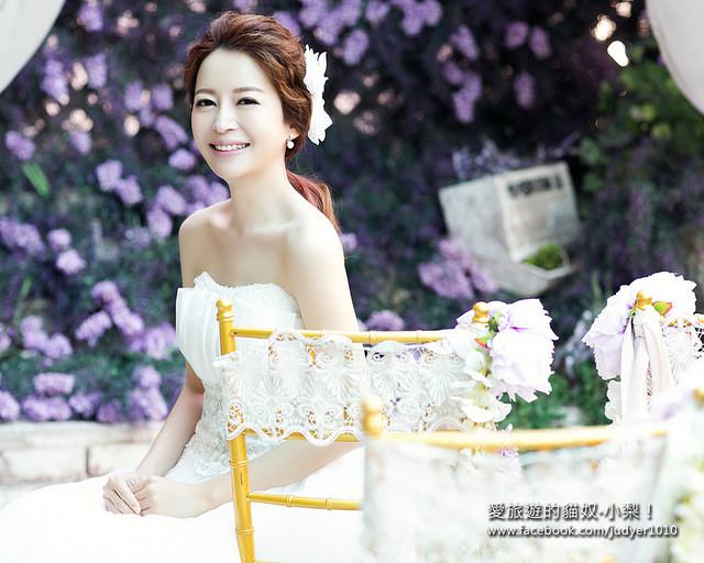 【韓國婚紗】去Wedding Jun 6台北分公司,拿我的相框相本啦!開心~