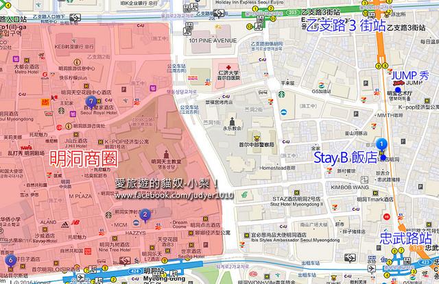 Stay B地圖