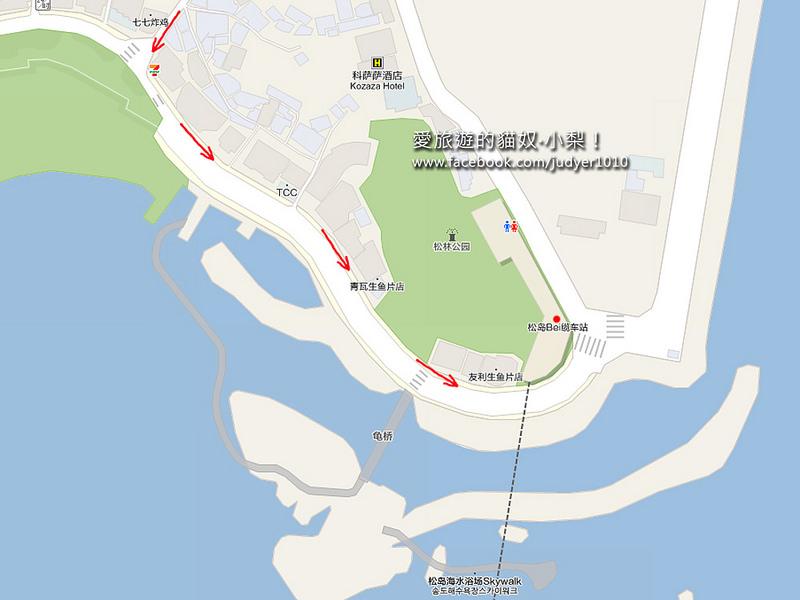 松島海上纜車地圖1