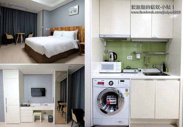 首爾住宿,Ever8經濟型公寓 設施