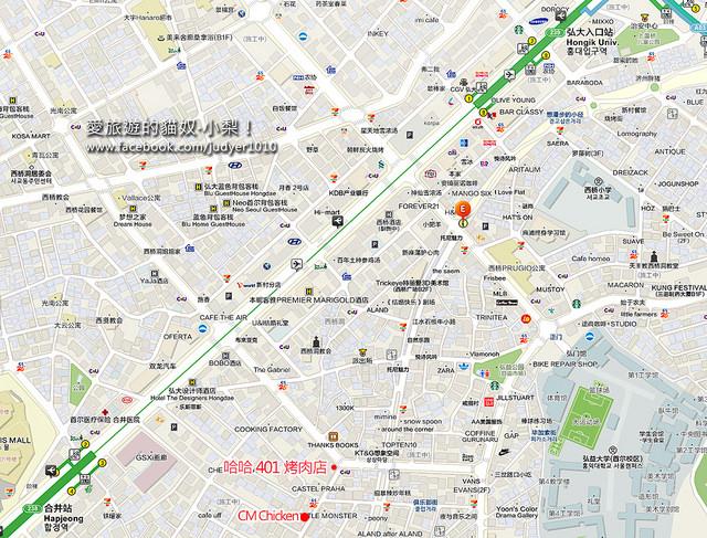 弘大CM地圖1