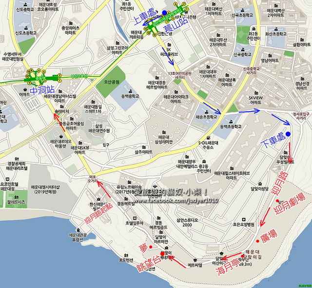 萇山站迎月路地圖NAVER