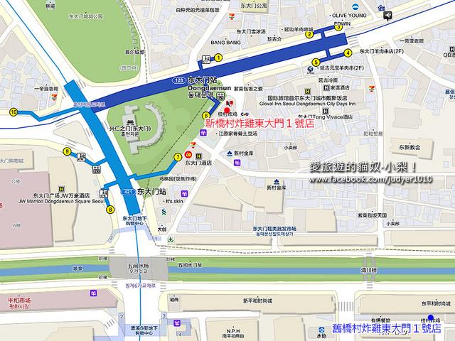 東大門地圖 -1