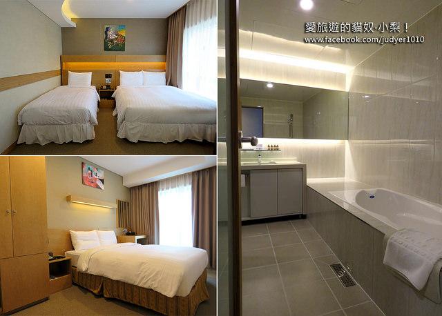 首爾住宿,Namsan City Hotel房內設施