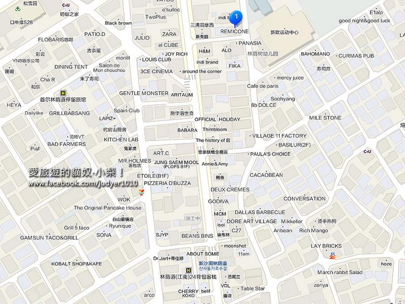 新沙地圖1