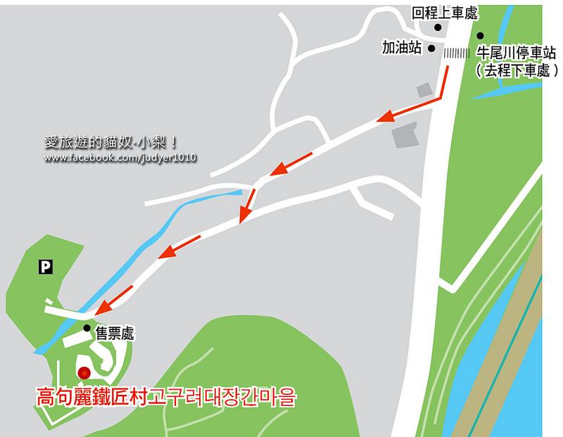 高句麗鐵匠村地圖