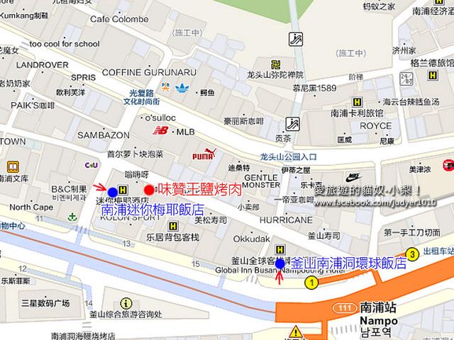 南浦站地圖 -2