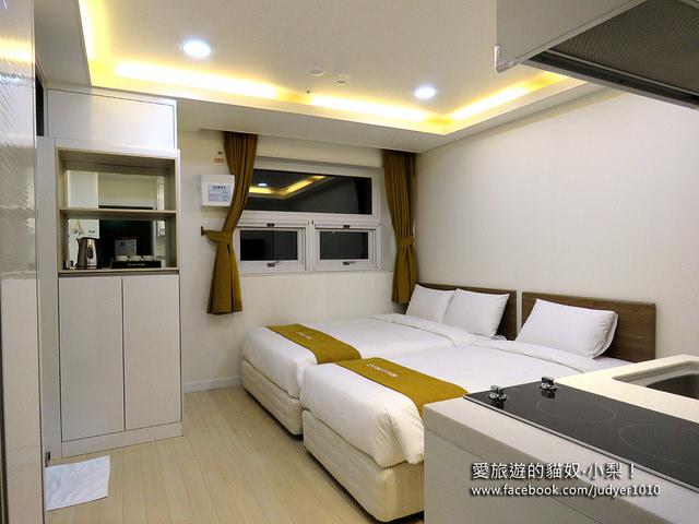 首爾住宿,D7 Suites Residence 房間設施