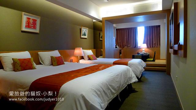 明洞住宿-PJ飯店 寬敞的房間