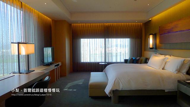 首爾住宿,汝矣島站 飯店房間