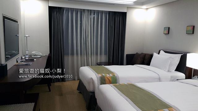 首爾住宿,最佳西方精品飯店房間