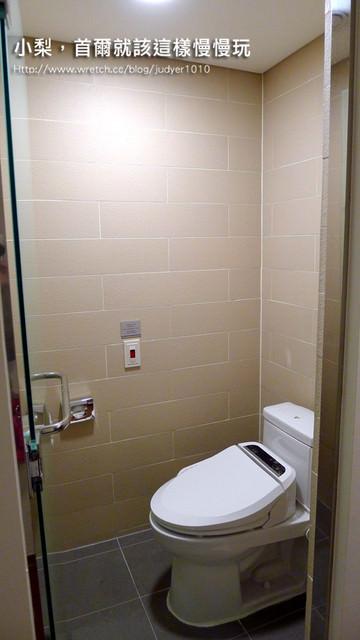 明洞住宿-九樹飯店乾濕分離浴室