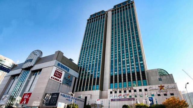 釜山樂天飯店外觀 -1