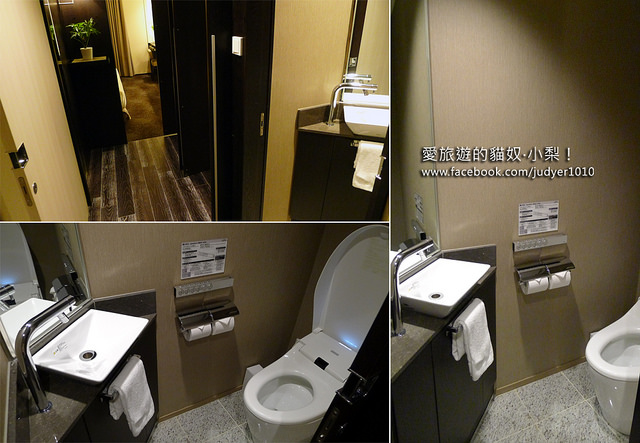 明洞住宿-索拉利西鐵飯店房內廁所