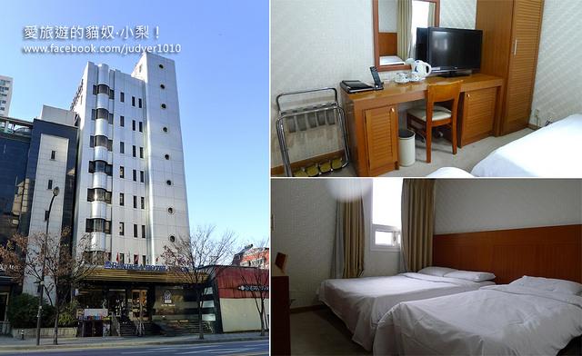 首爾住宿,美景飯店 Vision Hotel 外觀與房間