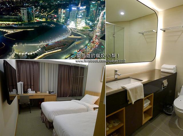 首爾住宿,美利來飯店Hotel Migliore Seoul 房間設施