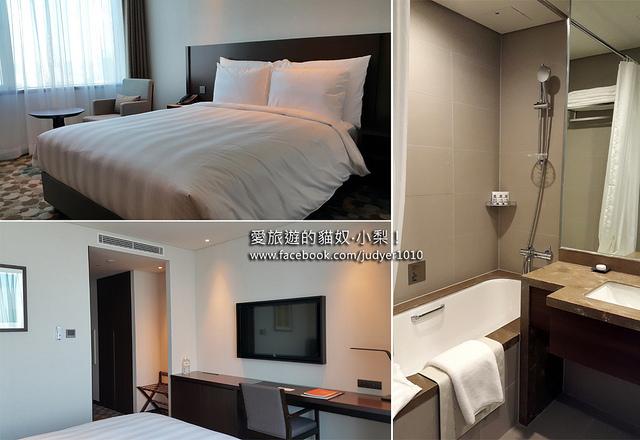 首爾住宿,樂天城市酒店房間與設施