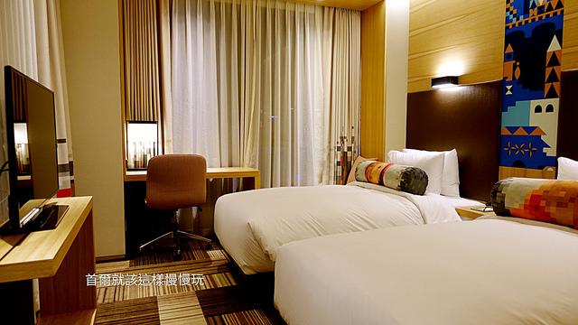 明洞住宿-首爾明洞雅樂軒飯店Aloft Seoul Myeongdong房間
