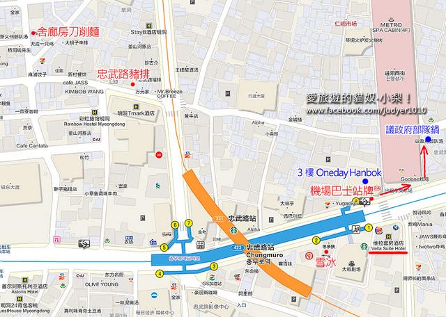 忠武路地圖